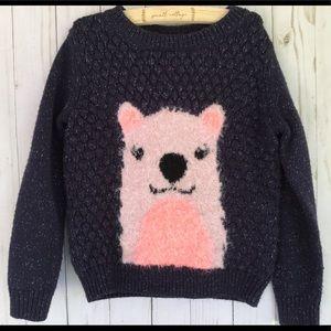 Girls 3T teddy bear sweater